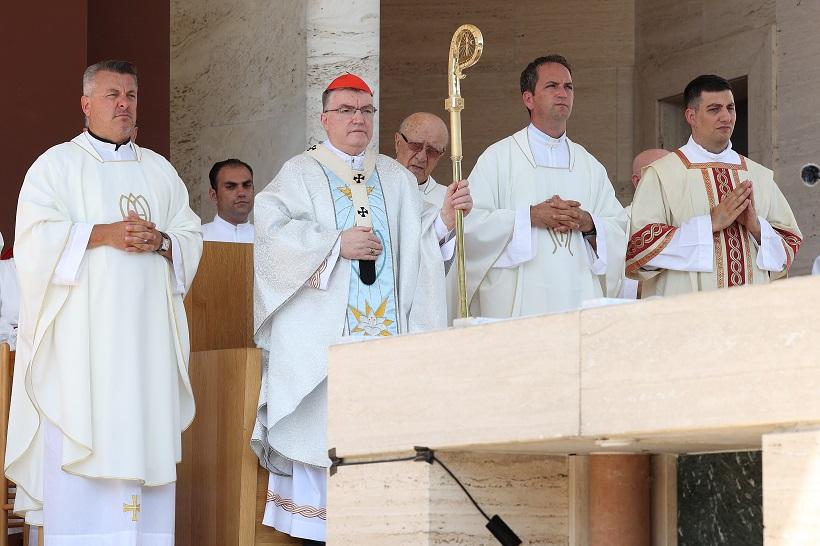 Marija Bistrica: Kardinal Bozanić predvodio misno slavlje na blagdan Velike Gospe
