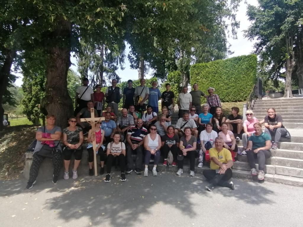 Križevački hodočasnici stigli u Mariju Bistricu