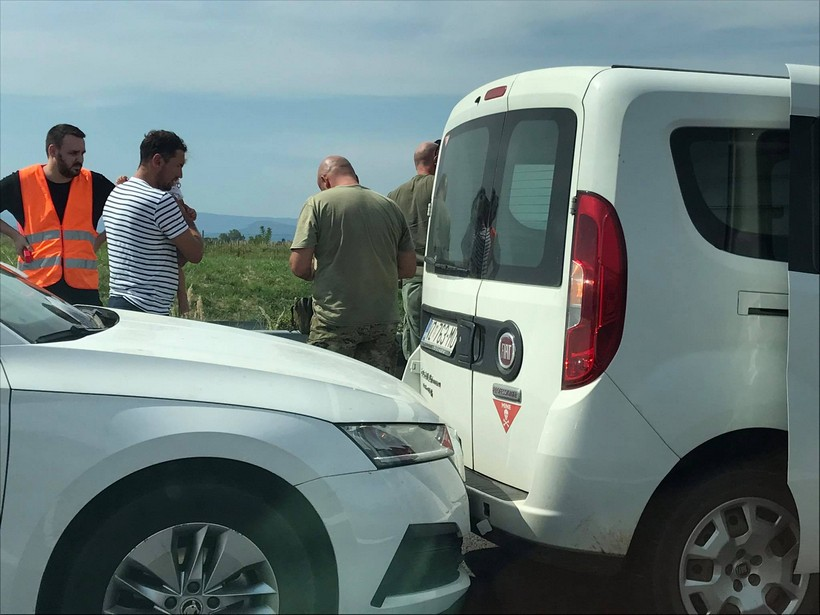Lančani sudar usporio promet na 'žili kucavici' turističkog prometa