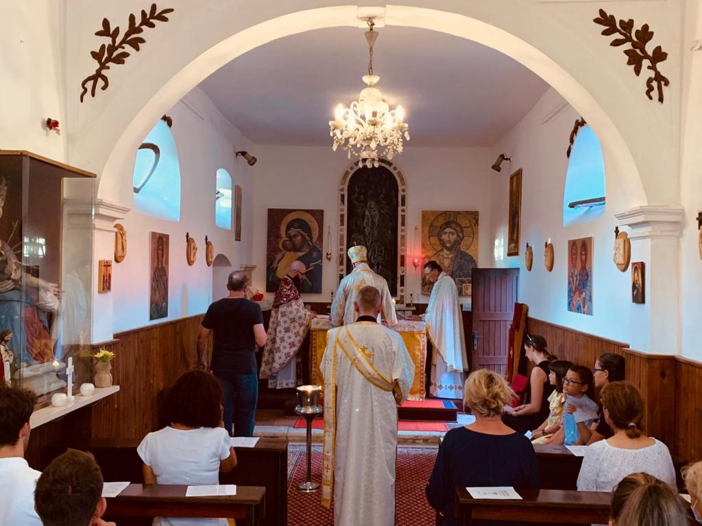 Križevački vladika Stipić služio liturgiju u Zadru