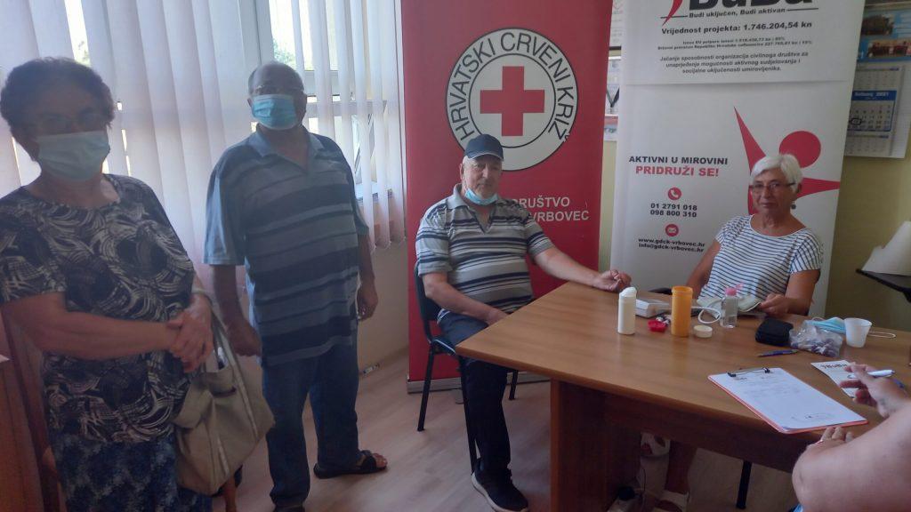 Udruga umirovljenika Preseka organizirala mjerenje krvnog tlaka i šećera