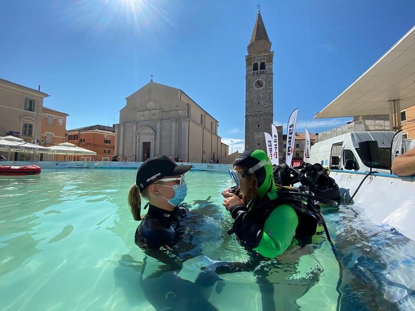 🖼️ Promocija ronjenja i velika akcija čišćenja podmorja u Umagu