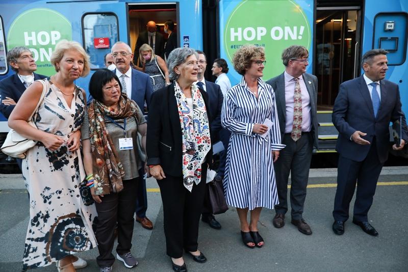 U Zagrebu pristao vlak Connecting Europe Express koji povezuje Europu