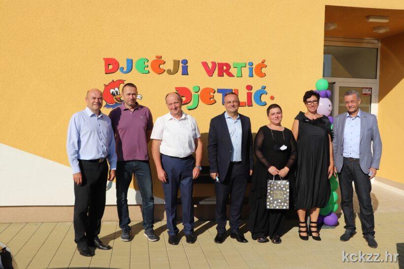 U Sokolovcu svečano otvoren dječji vrtić Djetlić