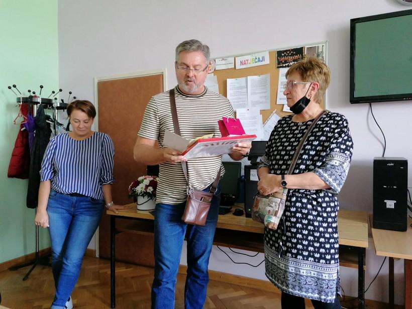 Kolege se oprostili od učiteljice Ivke Kajganić: 'U učenicima poticala ljubav prema umjetnosti'