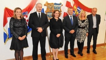 Ministrica Obuljen u Varaždinu; župan Stričak: 'Dvorac Šaulovec u Črešnjevu bit će edukativno-kulturni centar'