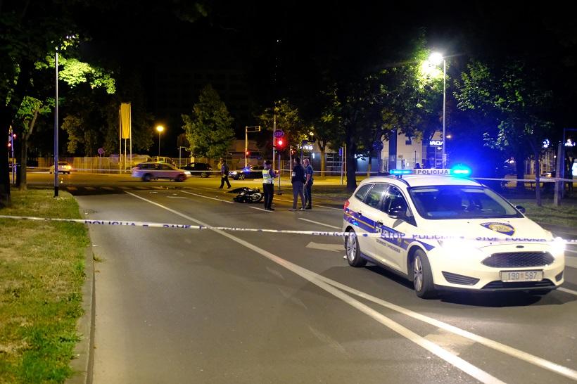 Zagreb: U Travnom poginuo motociklist
