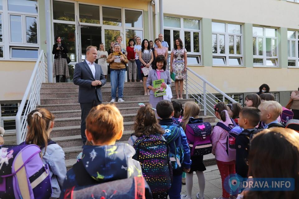 Prvi dan škole, OŠ Đuro Ester