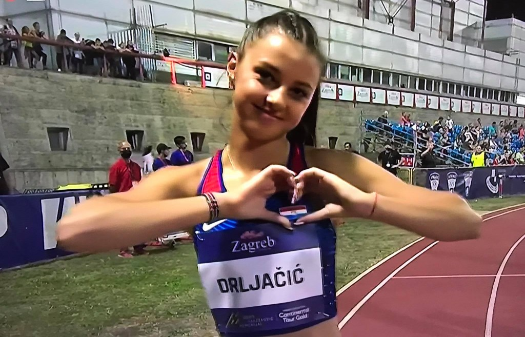 CONTINENTAL GOLD TOUR ZAGREB Veronika Drljačić osma