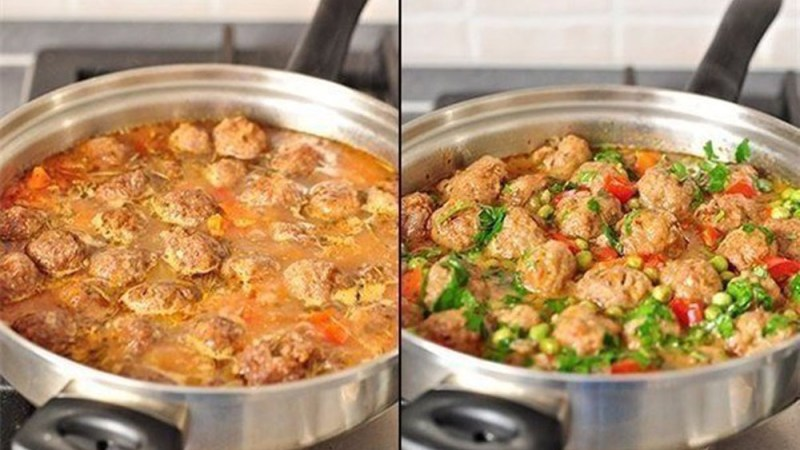 Обалденное овощное рагу с фрикадельками🥙🥙🥙