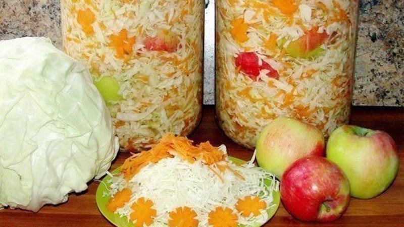 Хороший рецепт квашеной капусты