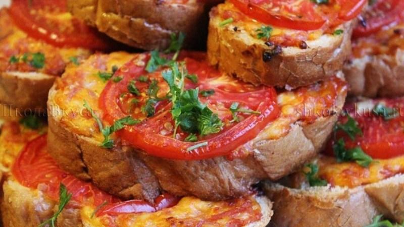 Горячий бутерброд «Ленивая пицца»