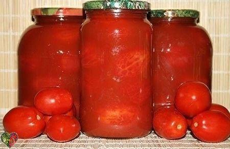 Помидоры 🍅в томатном соке