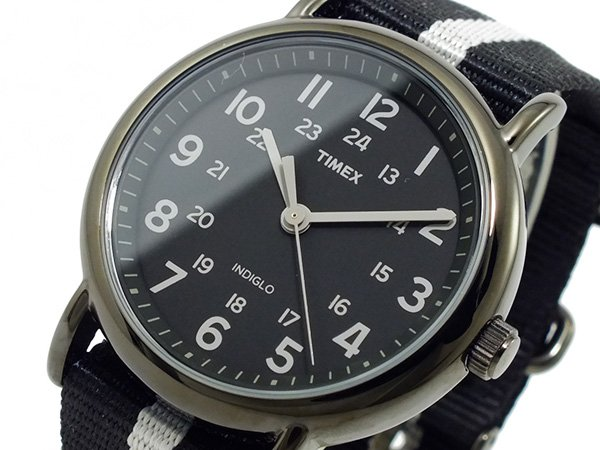 Watch  Timex Weekender Gun Metal Grey Black 38mm at