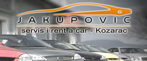 Rent a car Jakupovic Kozarac