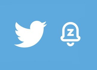 Twitter snooze button