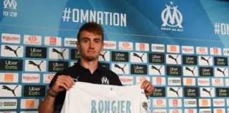 Valentin Rongier signe à l' OM olympique de Marseille