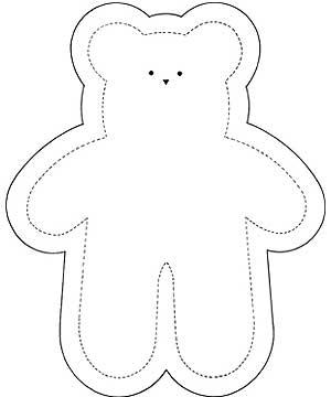Super-Cute Soft Toy Teddy Sewing Pattern