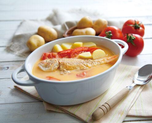番茄薯仔紅衫魚湯 - Primada