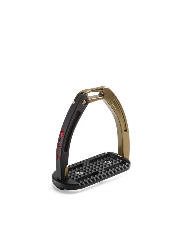 Equipe STAF14 Safety Stirrups Dark Titanium/Bronze