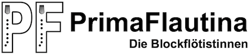 PrimaFlautina Logo with writing (extended)