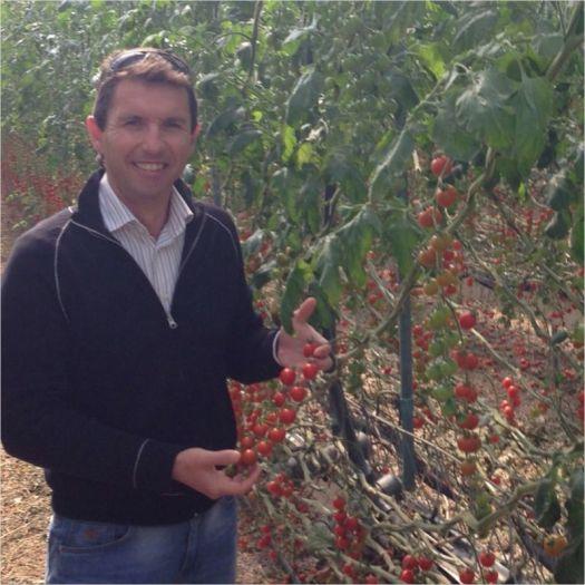 Juan Antonio Jiménez. Director de producción agrícola y almacén de I gama