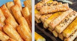 Sýrové tyčinky s tvarohem