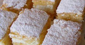 Recept na koláč s tvarohovým krémem