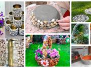 Dekorace z kamínků