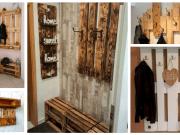 Nápady na výrobu věšáku ze starého dřeva nebo palet