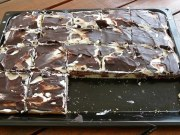 Recept na smetanový dezert s tvarohem a čokoládou