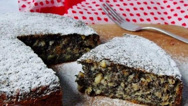 Recept na fantastický makový koláč s jablky