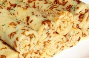 Recept na výborné slané palačinky se sýrem