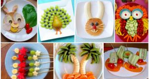 Úžasné způsoby, jak dětem naservírovat ovoce a zeleninu ke snídani či svačině!