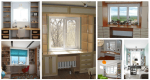 Úžasný nápad, jak zabudovat skříň kolem okna