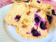 Recept na tvarohovou bábovku s rozinkami a borůvkami