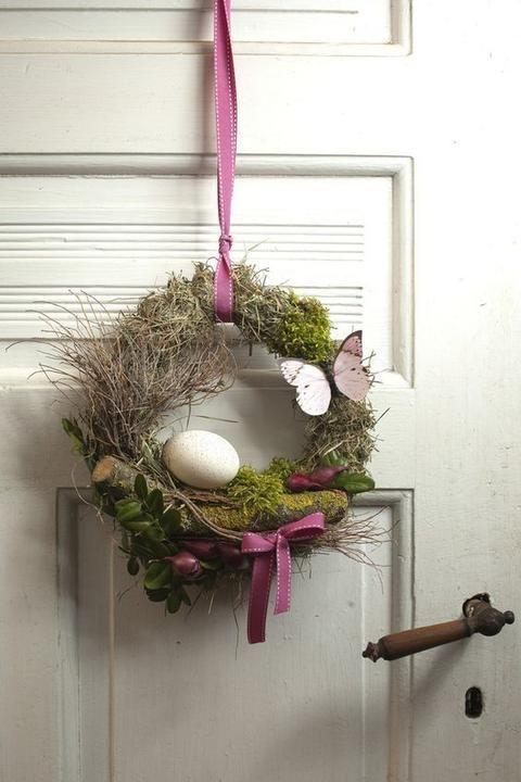 Inspirace na jarní dekoraci, kterou si můžete pověsit! - Prima inspirace