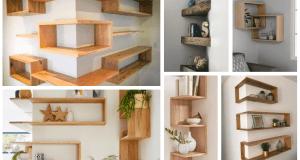 Inspirace na dřevěné dekorace do interiéru