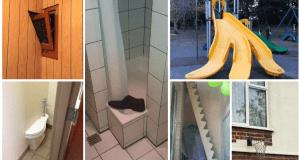 Zábavné snímky nepovedených stavebních projektů, které zkrátka nevyšly!