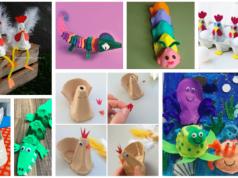 Tvoření pro děti z kartonu od vajec