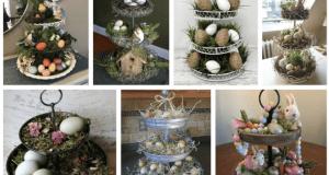 Vykouzlete si jednu z těchto patrových velikonočních dekorací!
