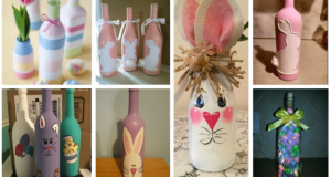 Inspirace na levné jarní dekorace vytvořené z lahví od vína: 25+ nápadů