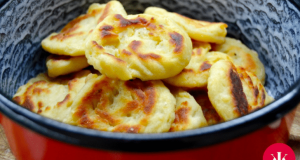Recept na jednoduché šneky z bramborového těsta