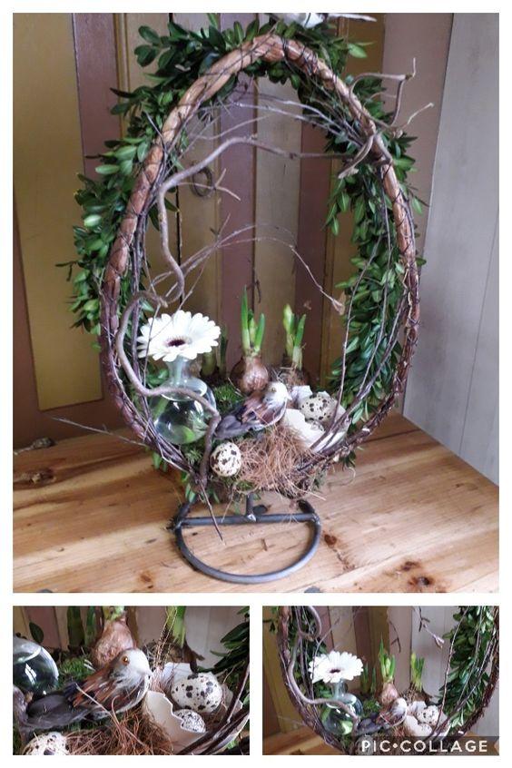 Inspirace na přírodní dekorace ve tvaru vejce: Vyzdobte si svou domácnost