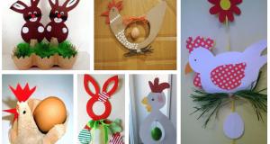 Inspirace na velikonoční tvoření pro děti