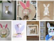 Inspirace na tvoření pro vaše děti: Vyrobte si svého velikonočního zajíce!