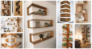 Inspirace na dřevěné poličky do každé domácnosti