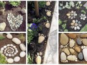 Inspirace na zahradní tvoření: Využijte obyčejné kameny!