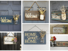 Zkrášlete si své vchodové dveře touto uvítací květinovou dekorací