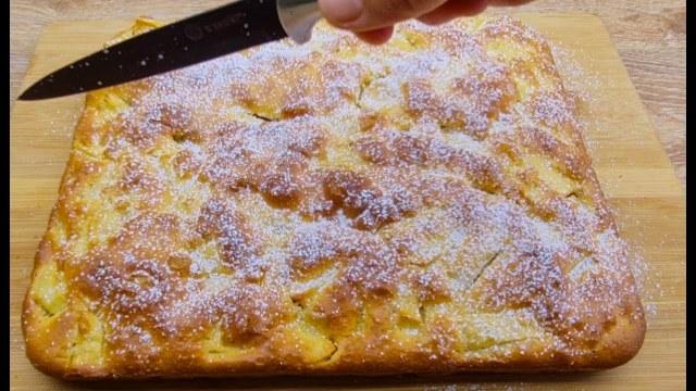 Všechno promícháme a máme hotovo: Jablečný koláč